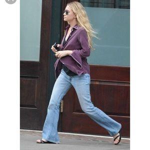 """Vintage Levi's Light Wash Boho Flare Jeans 27"""""""